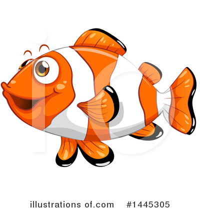 Clownfish Clipart #1445305 by Graphics RF