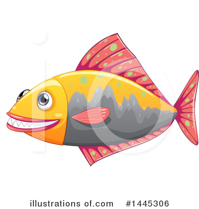 Royalty-Free (RF) Fish Clipart Illustration by Graphics RF - Stock Sample #1445306