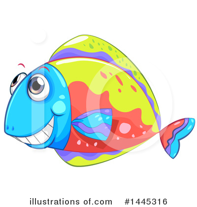 Sea Life Clipart #1445316 by Graphics RF