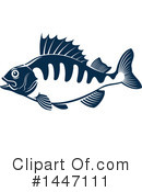 Fish Clipart #1447111 by Vector Tradition SM