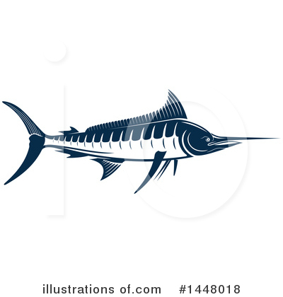 Marlin Clipart #1448018 by Vector Tradition SM