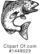 Fish Clipart #1448029 by Vector Tradition SM