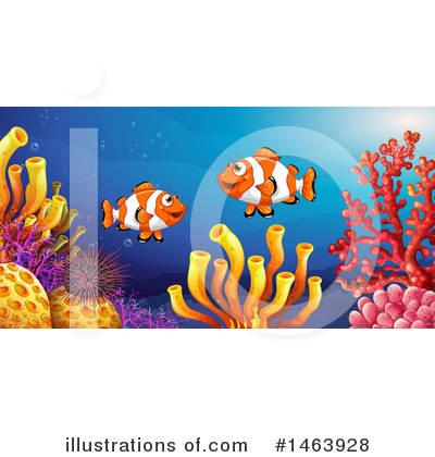 Reef Clipart #1463928 by Graphics RF