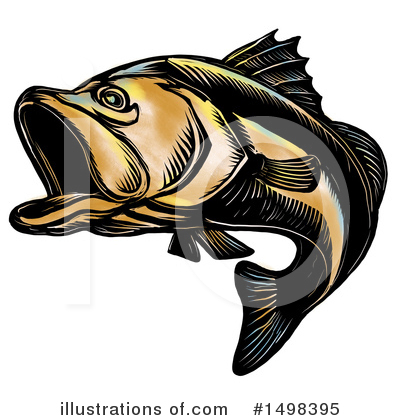 Barramundi Clipart #1498395 by patrimonio
