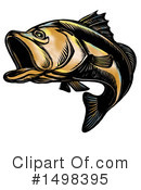 Royalty-Free (RF) Fish Clipart Illustration #1498395