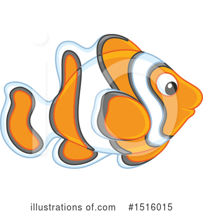 Clownfish Clipart #1516015 by Alex Bannykh