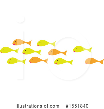 Royalty-Free (RF) Fish Clipart Illustration by Cherie Reve - Stock Sample #1551840
