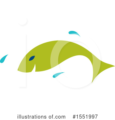 Fish Clipart #1551997 by Cherie Reve