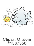 Fish Clipart #1567550 by Johnny Sajem