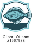 Fish Clipart #1567988 by Vector Tradition SM