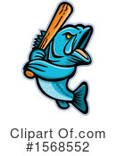 Fish Clipart #1568552 by patrimonio
