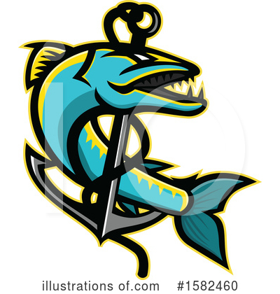 Anchor Clipart #1582460 by patrimonio