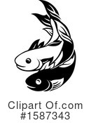 Fish Clipart #1587343 by AtStockIllustration