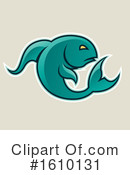 Fish Clipart #1610131 by cidepix
