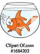 Fish Clipart #1684202 by toonaday