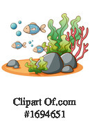 Fish Clipart #1694651 by Graphics RF