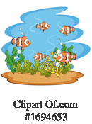 Fish Clipart #1694653 by Graphics RF