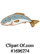 Fish Clipart #1696274 by Graphics RF
