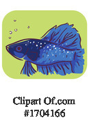 Fish Clipart #1704166 by BNP Design Studio