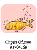 Fish Clipart #1704169 by BNP Design Studio
