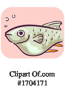 Fish Clipart #1704171 by BNP Design Studio