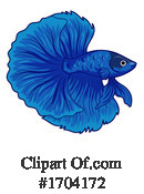 Fish Clipart #1704172 by BNP Design Studio