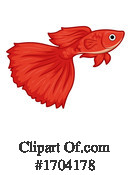 Fish Clipart #1704178 by BNP Design Studio