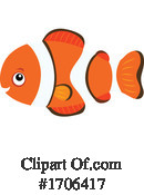 Fish Clipart #1706417 by visekart
