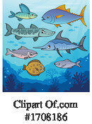 Fish Clipart #1708186 by visekart