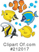 Fish Clipart #212017 by visekart