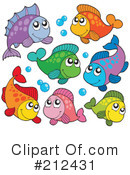 Fish Clipart #212431 by visekart