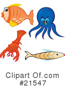Fish Clipart #21547 by Paulo Resende