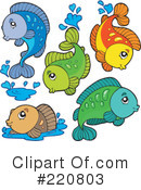 Fish Clipart #220803 by visekart