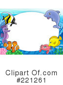 Royalty-Free (RF) Fish Clipart Illustration #221261