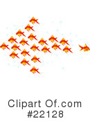 Royalty-Free (RF) fish Clipart Illustration #22128