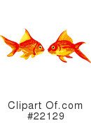 Royalty-Free (RF) fish Clipart Illustration #22129