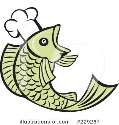 Chef Fish Clipart #229267 by patrimonio