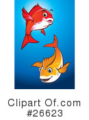 Royalty-Free (RF) fish Clipart Illustration #26623