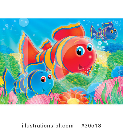 Clownfish Clipart #30513 by Alex Bannykh