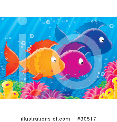 clip art fish. Fish Clipart #30517 by Alex