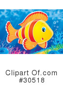Fish Clipart #30518 by Alex Bannykh