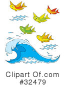 Fish Clipart #32479 by Alex Bannykh