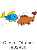 Fish Clipart #32480 by Alex Bannykh