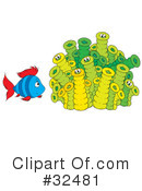 Fish Clipart #32481 by Alex Bannykh