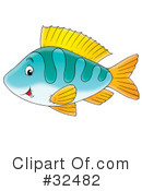 Fish Clipart #32482 by Alex Bannykh
