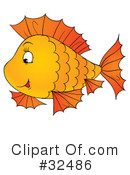 Fish Clipart #32486 by Alex Bannykh