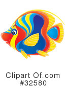 Fish Clipart #32580 by Alex Bannykh