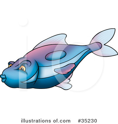 Fish Clipart #35230 by dero