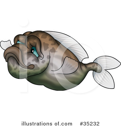 Fish Clipart #35232 by dero