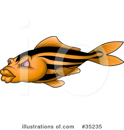 Fish Clipart #35235 by dero